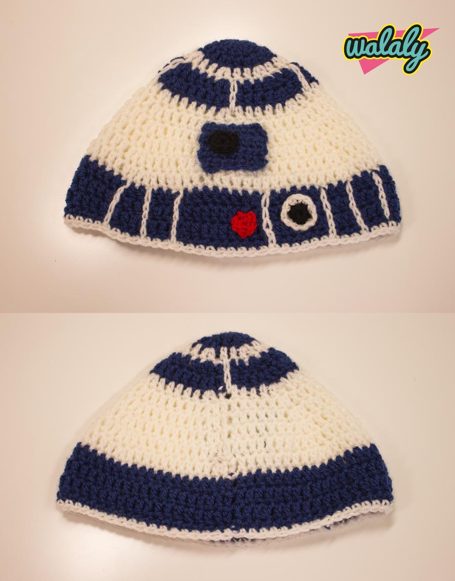 Patrón gorro ganchillo R2 D2   Ideas crochet y punto   Pinterest ...