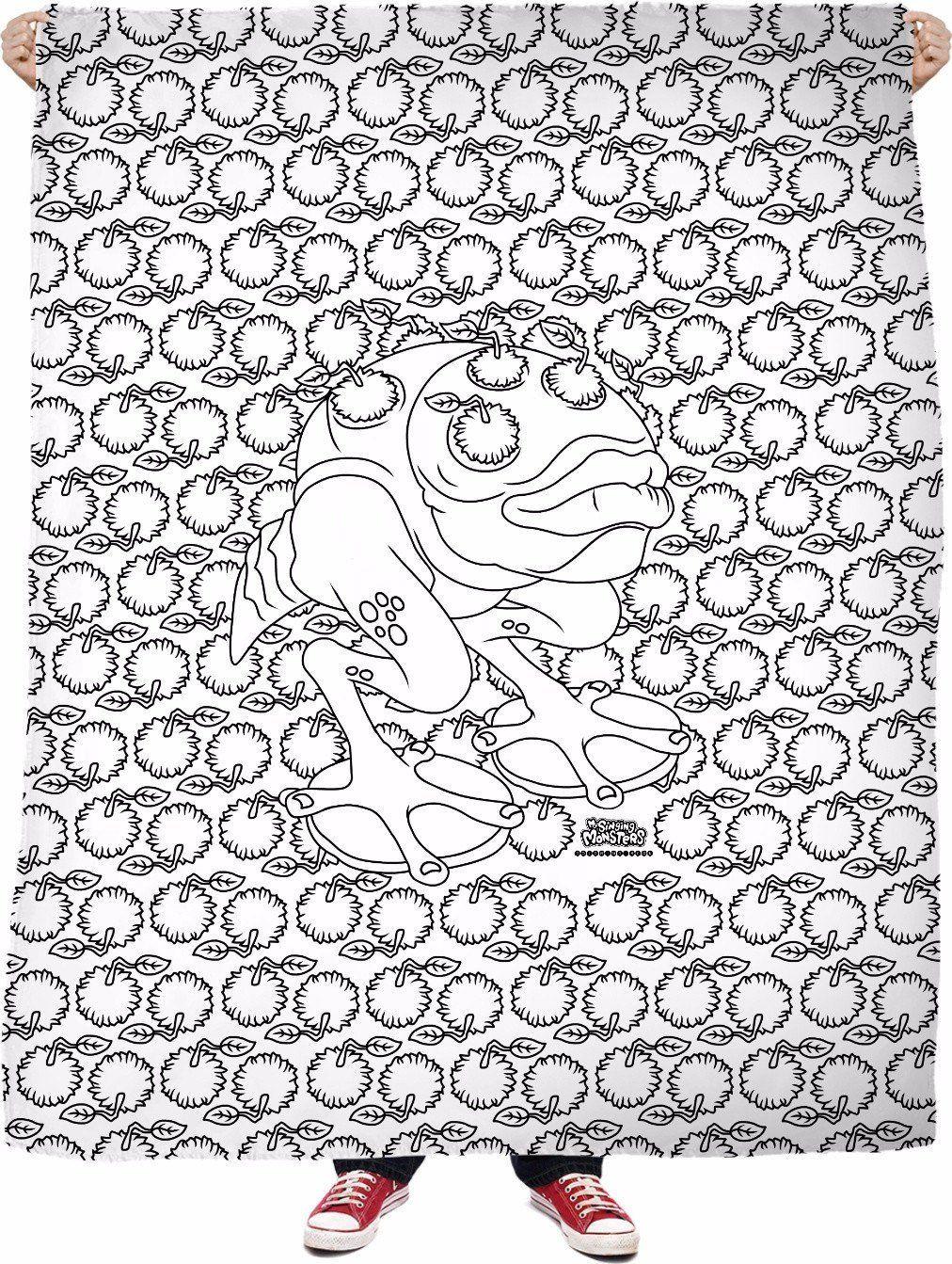 My Singing Monsters Coloring Book Brump Blanket My Singing Monsters Singing Monsters Coloring Books