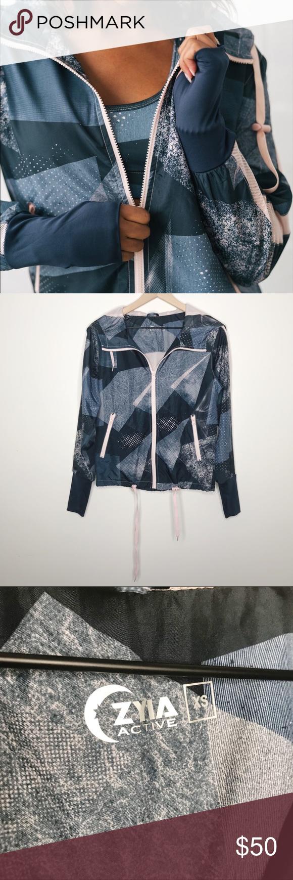 Zyia Radical Bomber Jacket Blue Pink Windbreaker Clothes Design Bomber Jacket Windbreaker [ 1740 x 580 Pixel ]