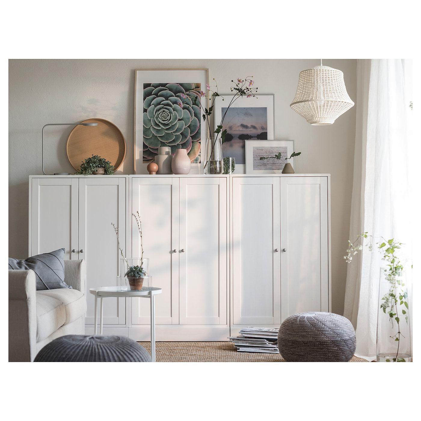 IKEA HAVSTA White Cabinet With Base