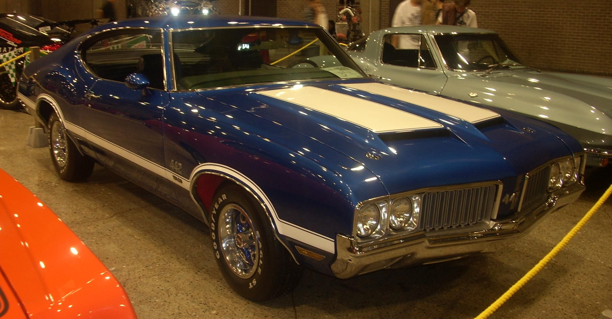 cutlass oldsmobile 442 - my dad had one just like this when I was ...