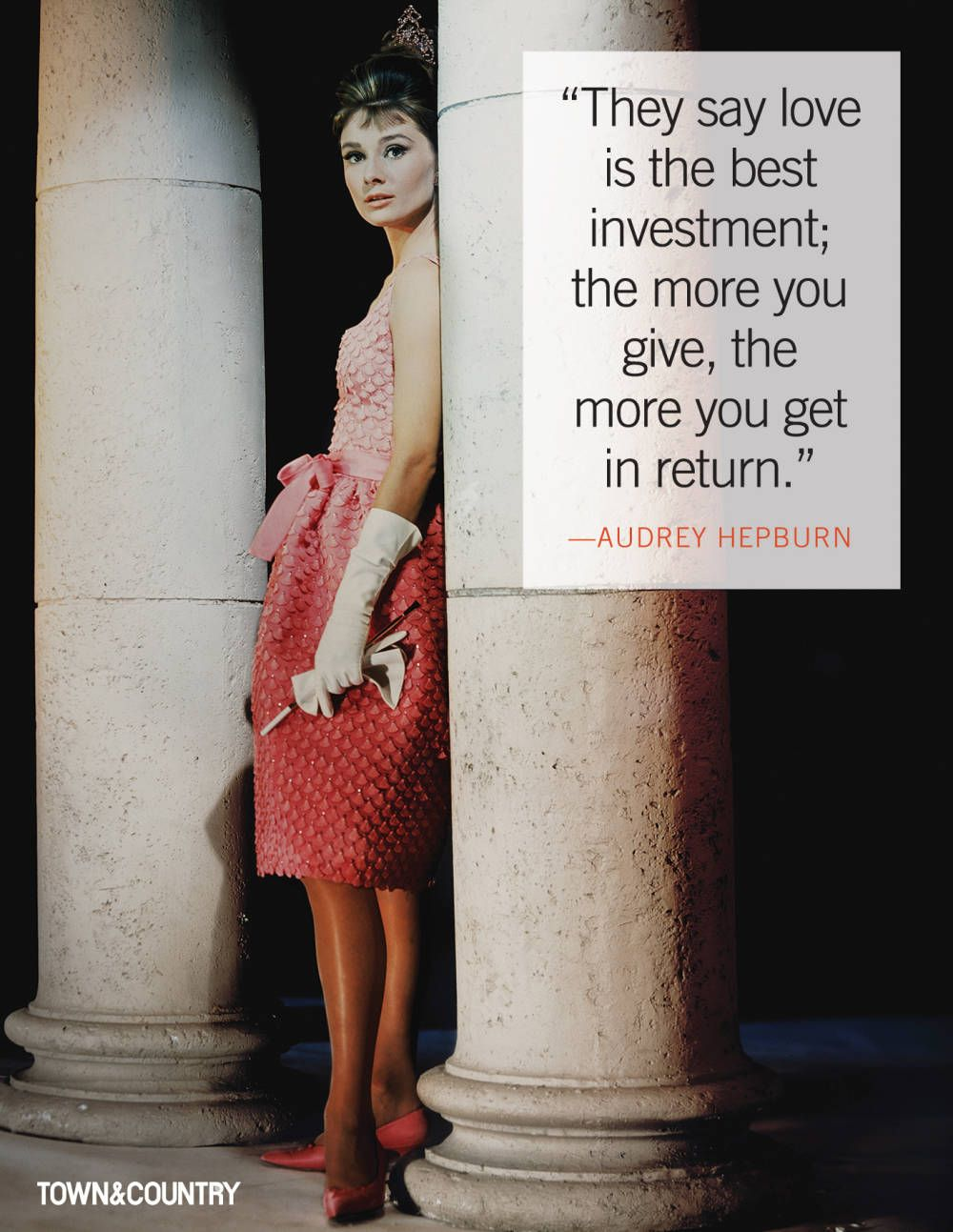 7 Of The Most Glamorous Audrey Hepburn Quotes Audrey Hepburn Quotes Audrey Hepburn Happy Birthday Woman
