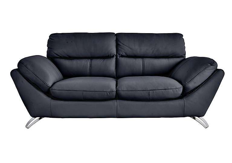 Salvador 3 Seater Leather Sofa - World of Leather ...