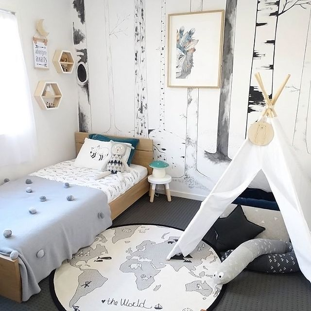 Love This Cute Little Boy's Room! OYOY The World Rug