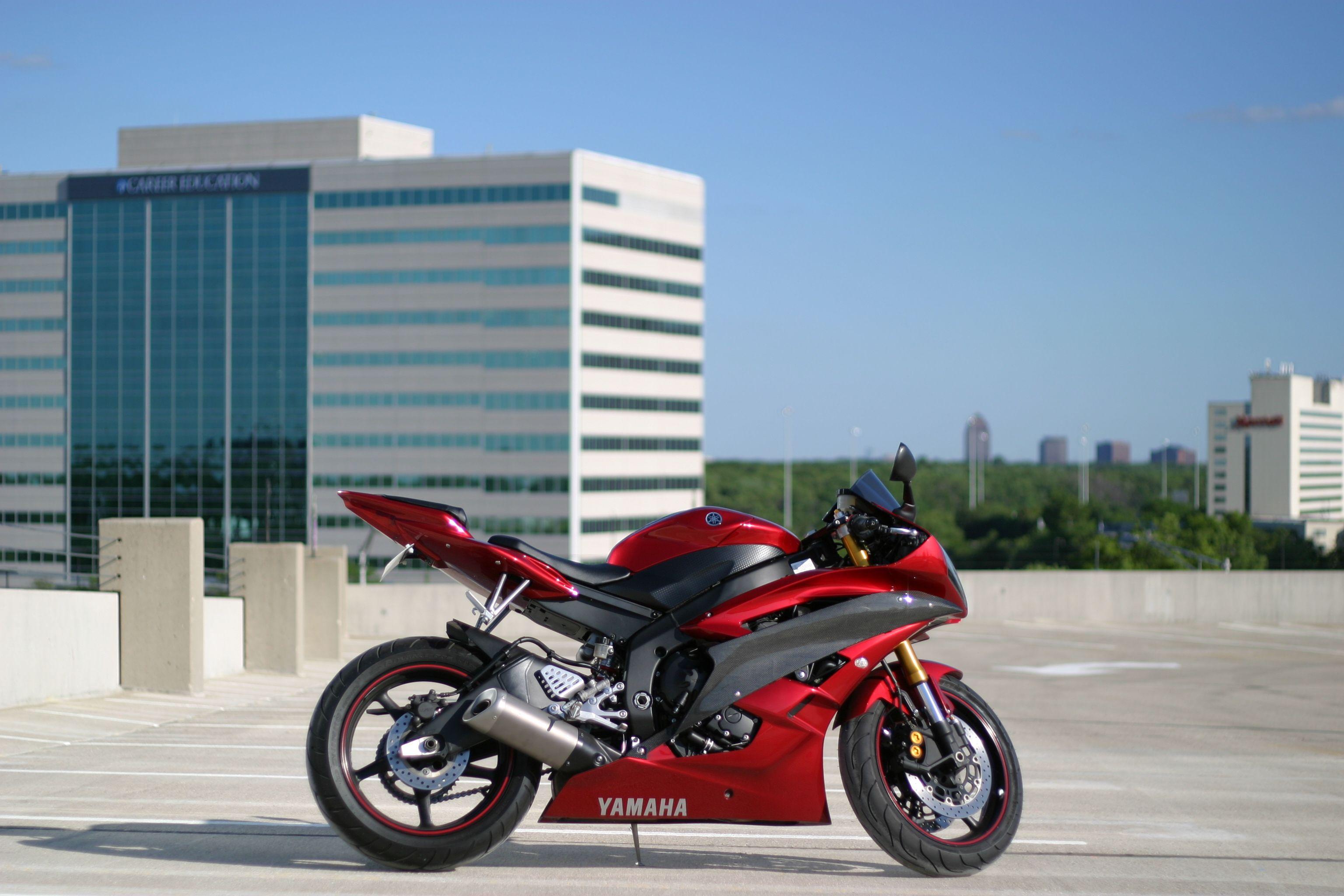 Yamaha R6 I want this same bike!