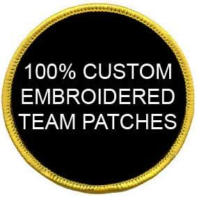 Airsoft Custom Team Patches (50 Patches)