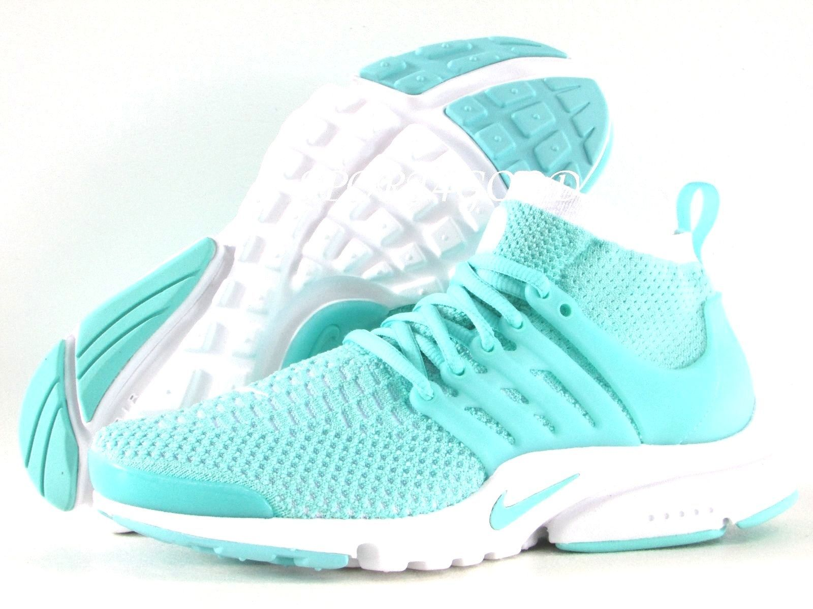 check out 08ad0 8c673 Nike Air Presto Flyknit Ultra Women SZ 7 Hyper Turquoise White  835738-301