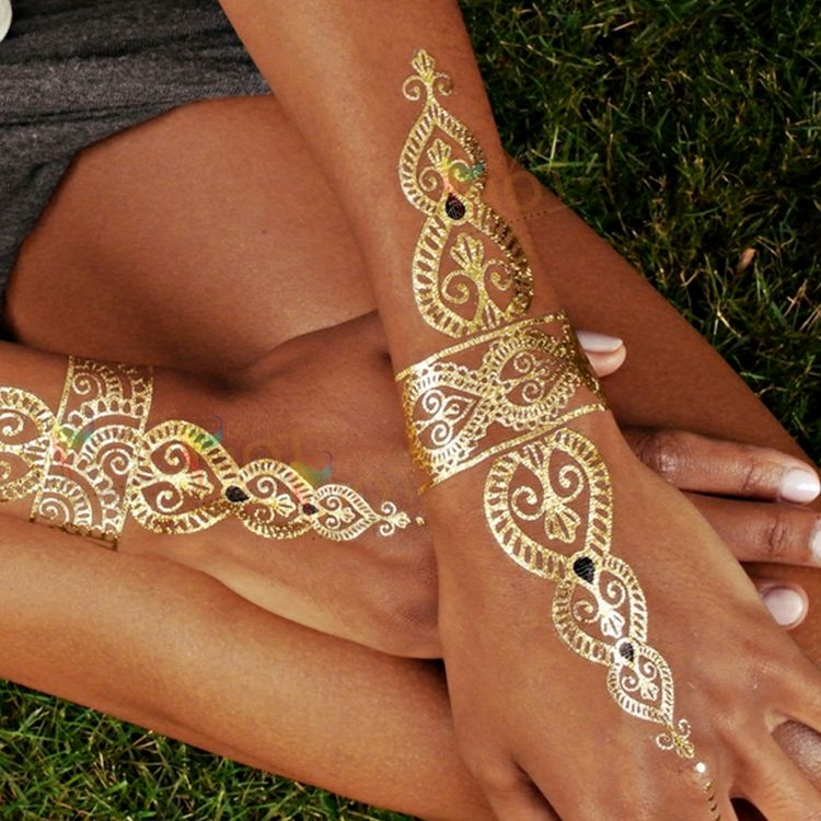 15b15a26ab676 ... Tattoo Stickers Disposable Flash Pharaoh Egypt Metal. Summer Music  Festival Must Haves #style #beauty #makeup
