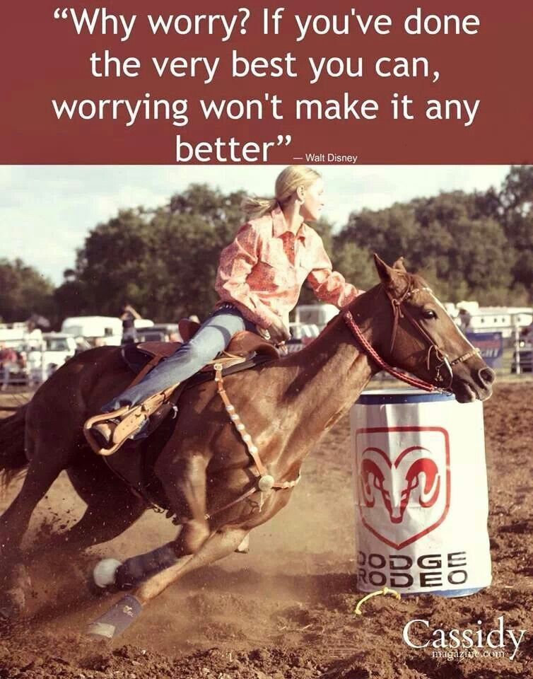 Pin by Jamie Hatfield on Barrel Racing Quotes Barrel