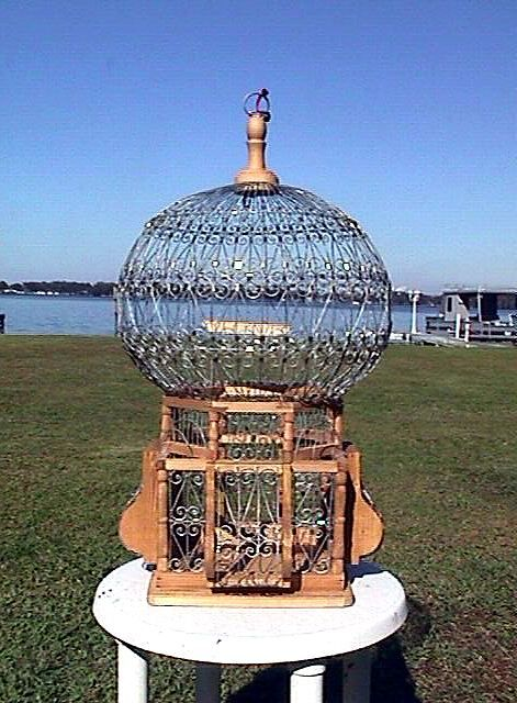 Victorian Cages Wooden Victorian Style Bird Cage Handmade