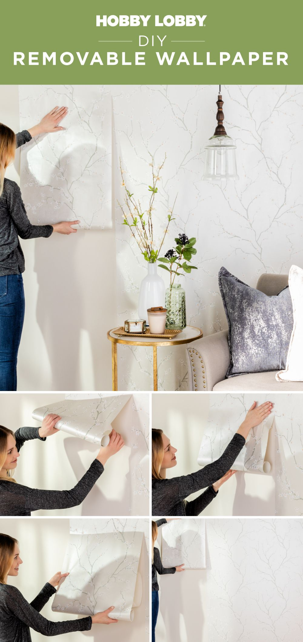 Transform Your Space Into A Personal Oasis With Removable Wallpaper Home Decor Accessories Unique Home Decor Diy Decor