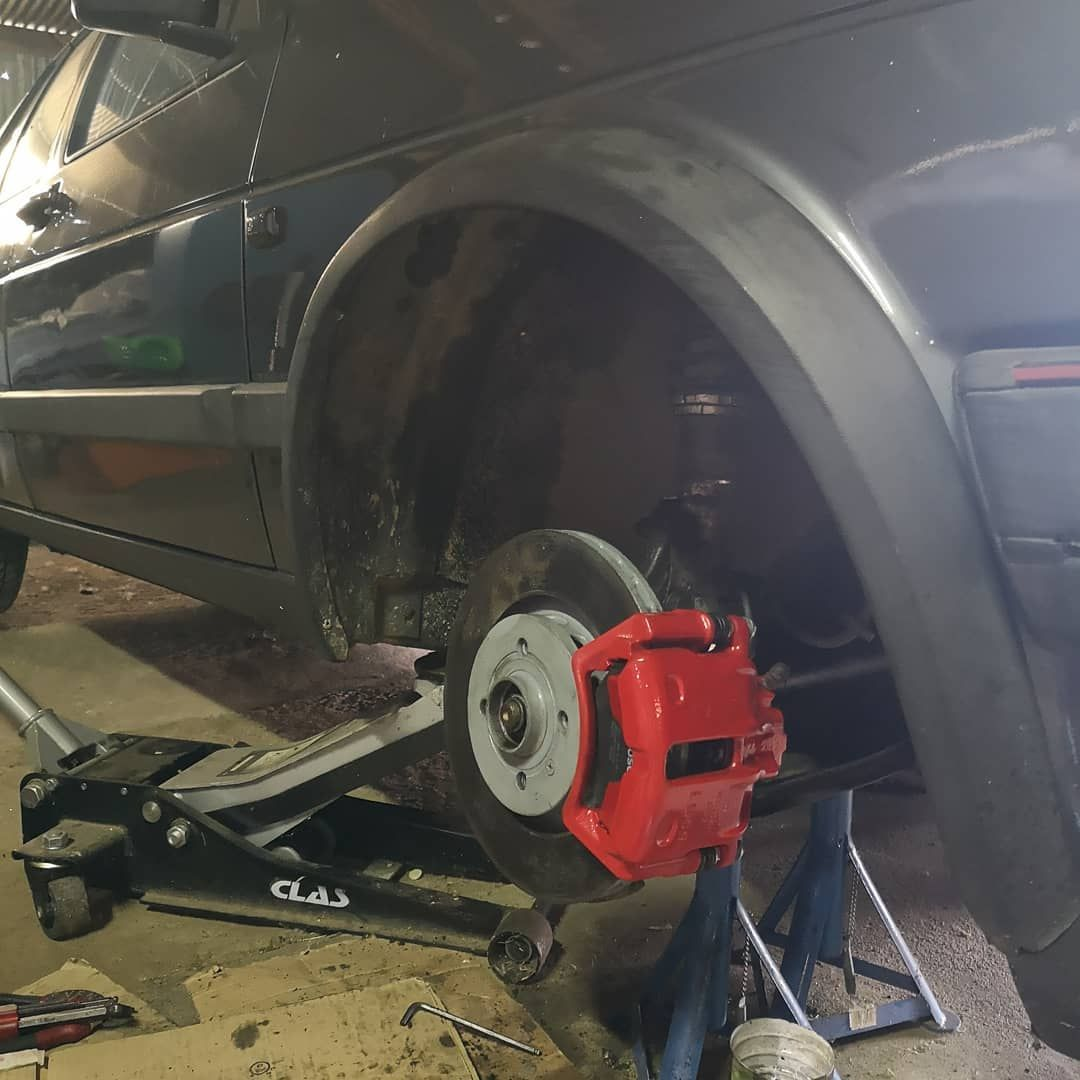 Ibiza Cupra G60 Brakes Set Up Mk2 Mk2golf Mk2golfgti Golf2 Golf2gti Mk2society Mk2family Mk2elite Volkswagen Volkswagen Passat Most Expensive Car
