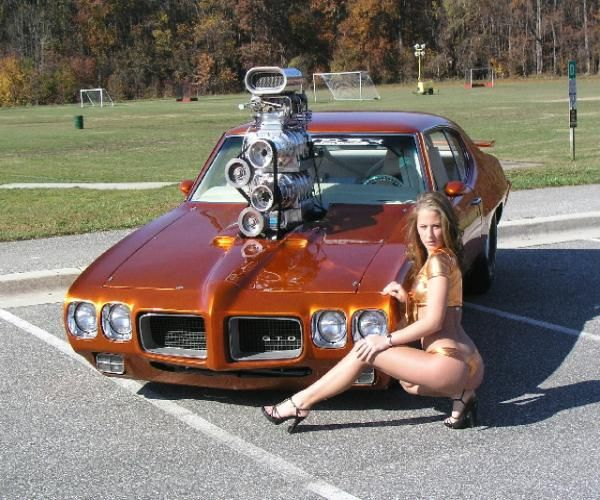Pontiac Car Wallpaper: HOT ROD Pontiac '70 GTO Pro Street Pro Street