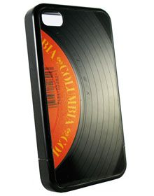 Wrecordsbymonkey iPhono iPhone 4 4S Vinyl Case