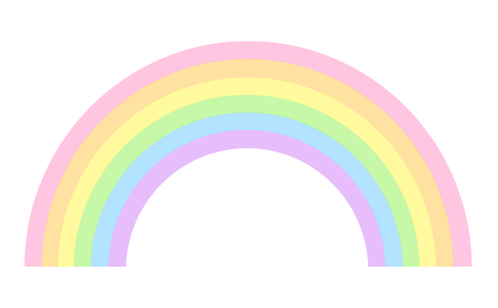 Pastel Rainbow Png Google Search Rainbow Clipart Rainbow Cartoon Rainbow Png