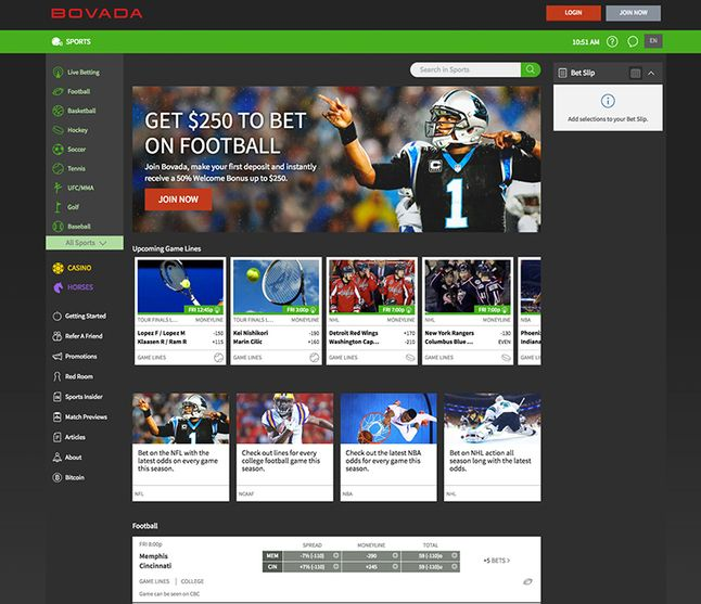 Online sports betting casino poker horse racing at bovada bclc sports betting