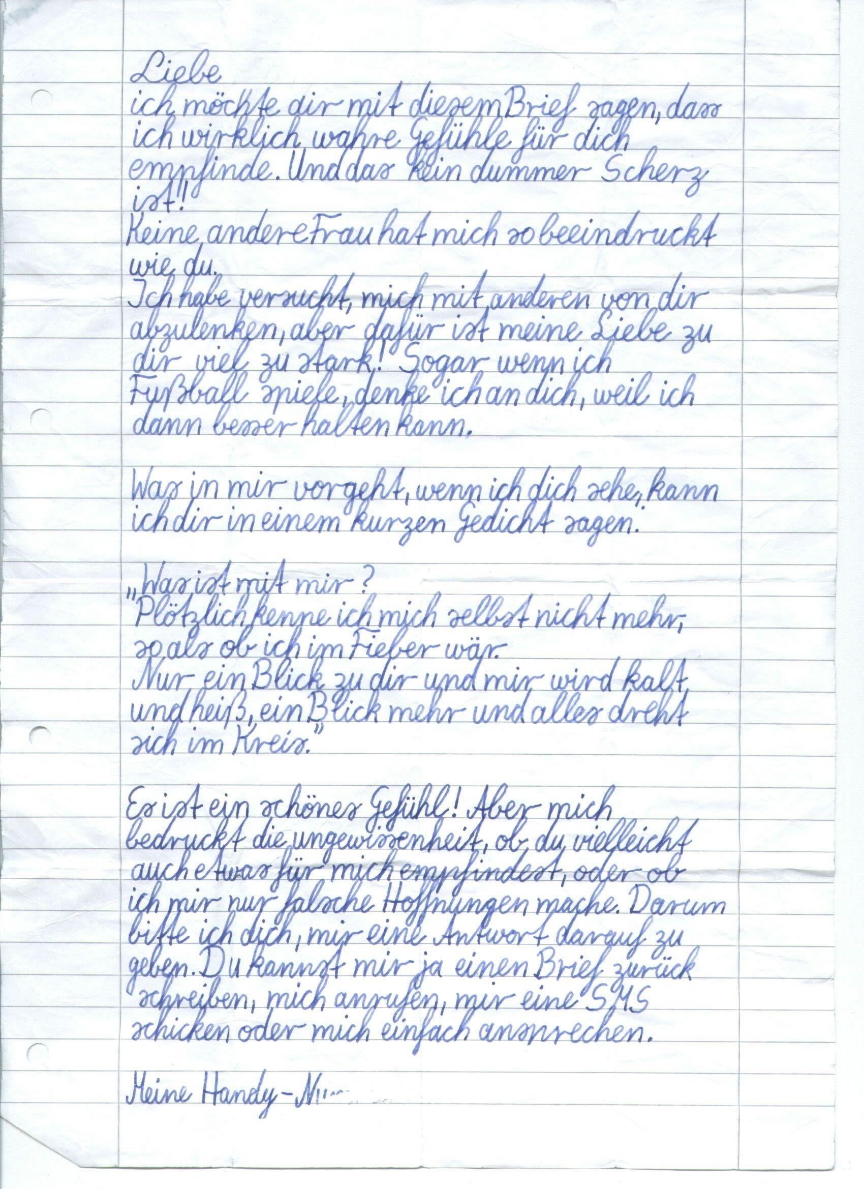 Liebesbrief » Bilder Pin | Liebesbriefe, Brief, Liebe