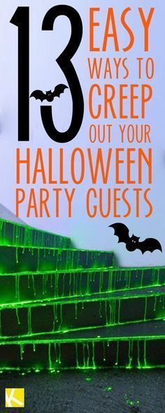 13 Creepy Ways to Decorate Your Home for Halloween Pinterest - how to decorate home for halloween