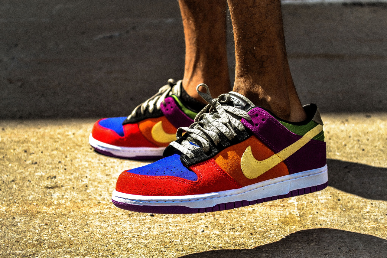 buy online ec328 a86b4 Nike Dunk Low 'Viotech' (by L's Julien) | SNKRS(Sneakers ...