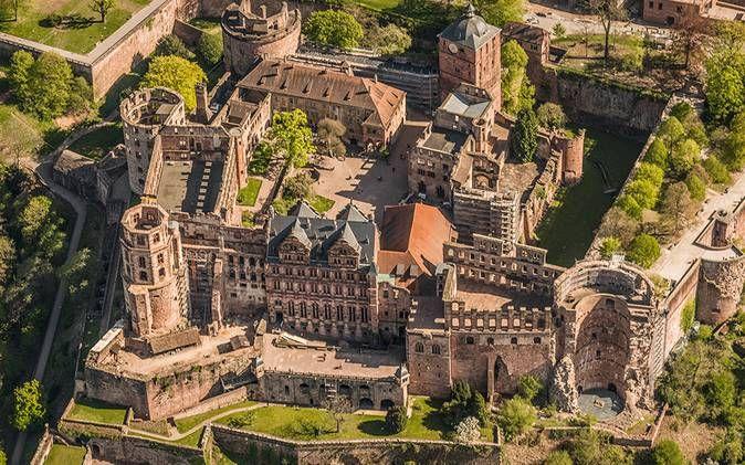 Heidelberger Schloss Und Schlossgarten Heidelberger Schloss Deutschland Burgen Reiseziele
