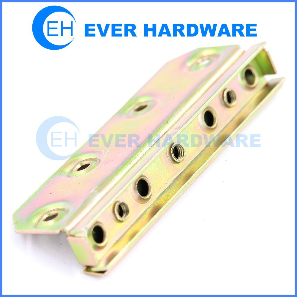 Bed hardware parts bed frame brackets for wood beds bracket supplies ...