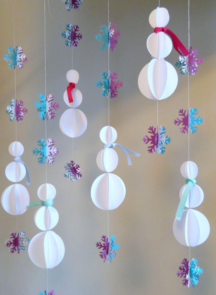 Comment on fait des decoration de noel en papier