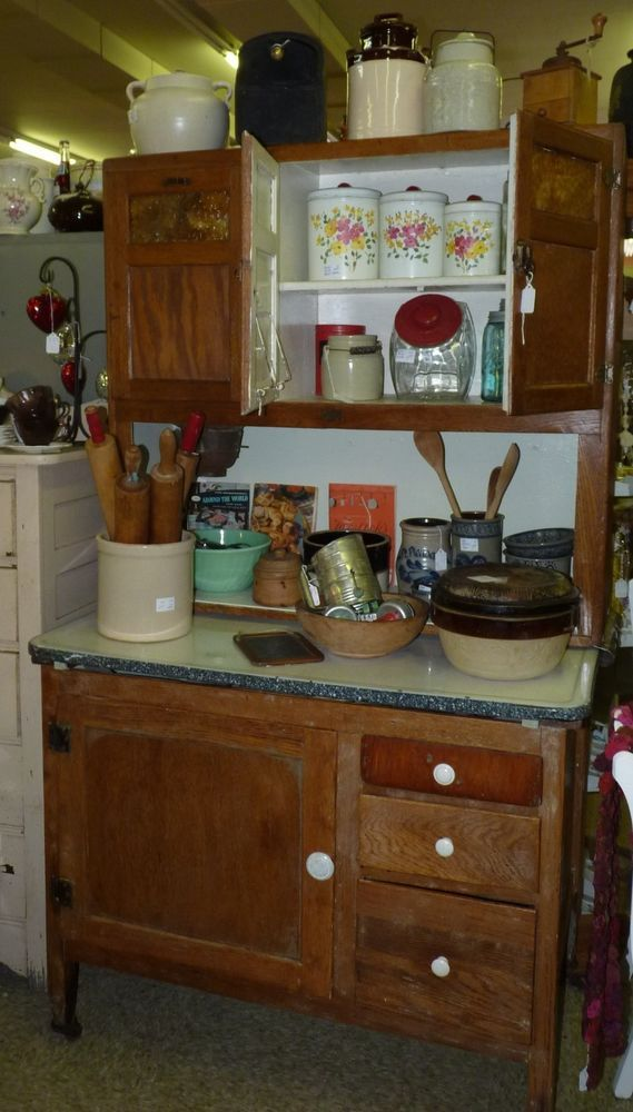 details about sellers cabinet hoosier style flour sifter wood oak rh pinterest com