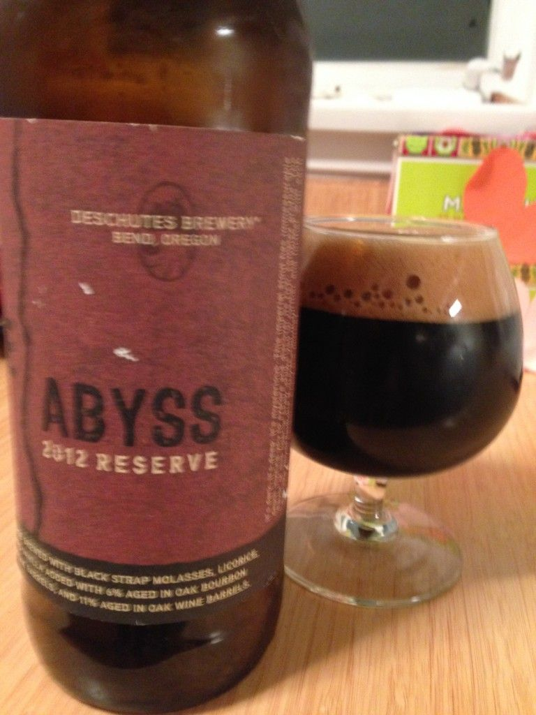 The Abyss Delivers The Goods Craft Beer Blog From The Beer Of The Month Club Beer Of The Month Craft Beer Beer Industry