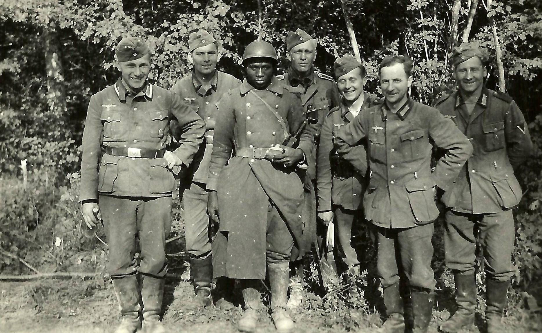 German Sol Rs Pose With A French Pow X