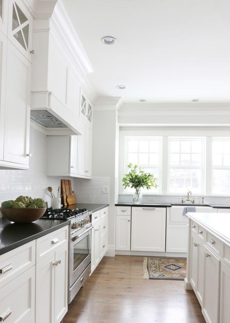 The Midway House Kitchen Kitchen Classic White Kitchen White