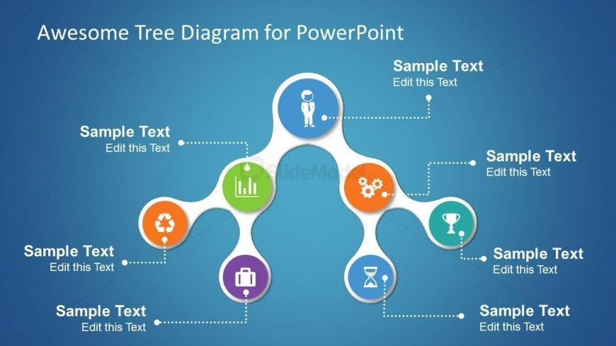 Simple Tree Diagrams Data Structure with Icons Data structures - tree diagram template