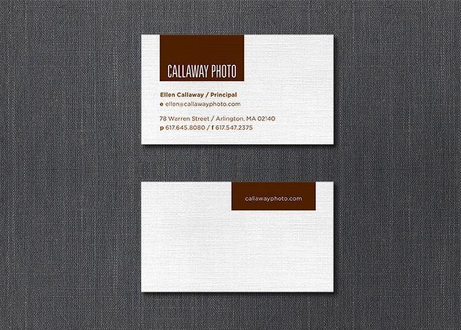 Callaway Photo Stationery