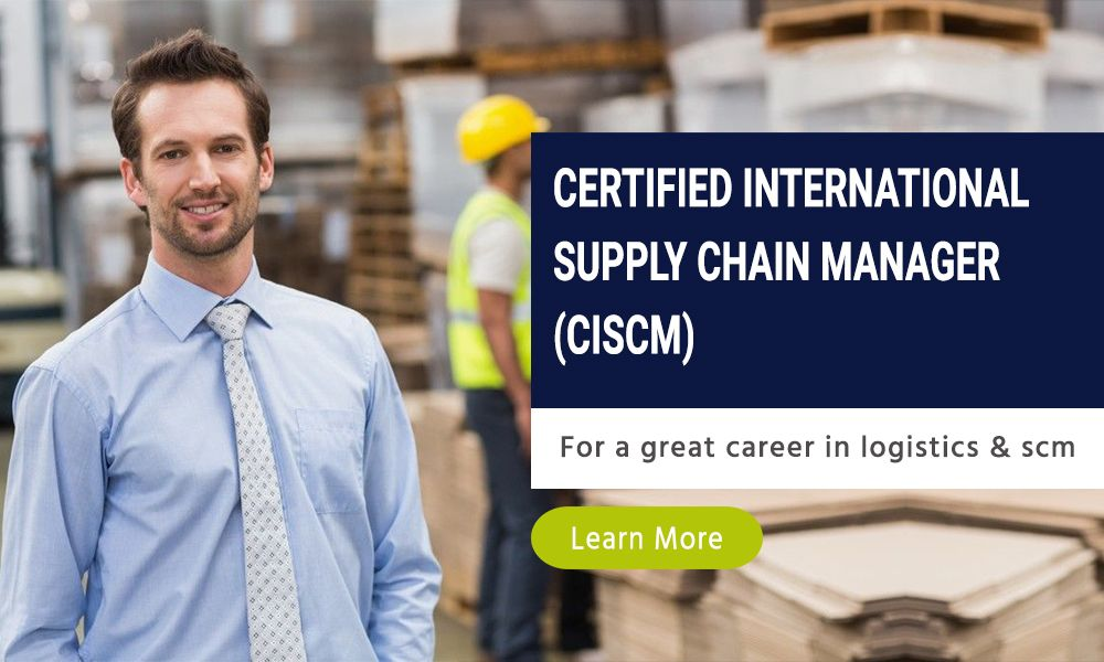 Certified international supply chain manager from