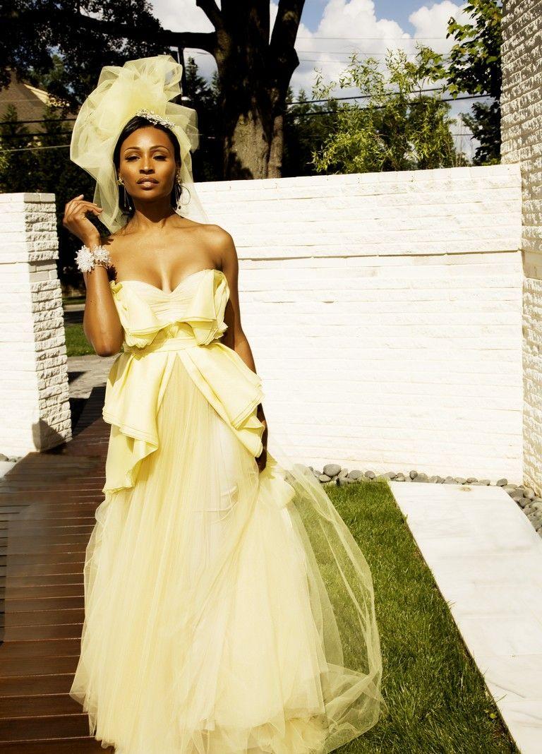 Cynthia Bailey Wedding dress pictures, Wedding guest