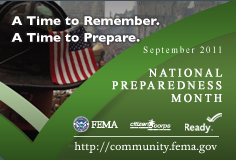 Are you ready? Make an emergency preparedness kit today!