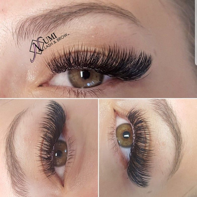 Pin By Brooke Birney On Love Those Lashes In 2020 Eyelash Extensions Volume Lash Extensions Eyelash Extensions Styles