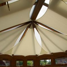 Fabric Draped Ceiling Google Search Conservatory Roof Blinds Pergola With Roof Ceiling Installation