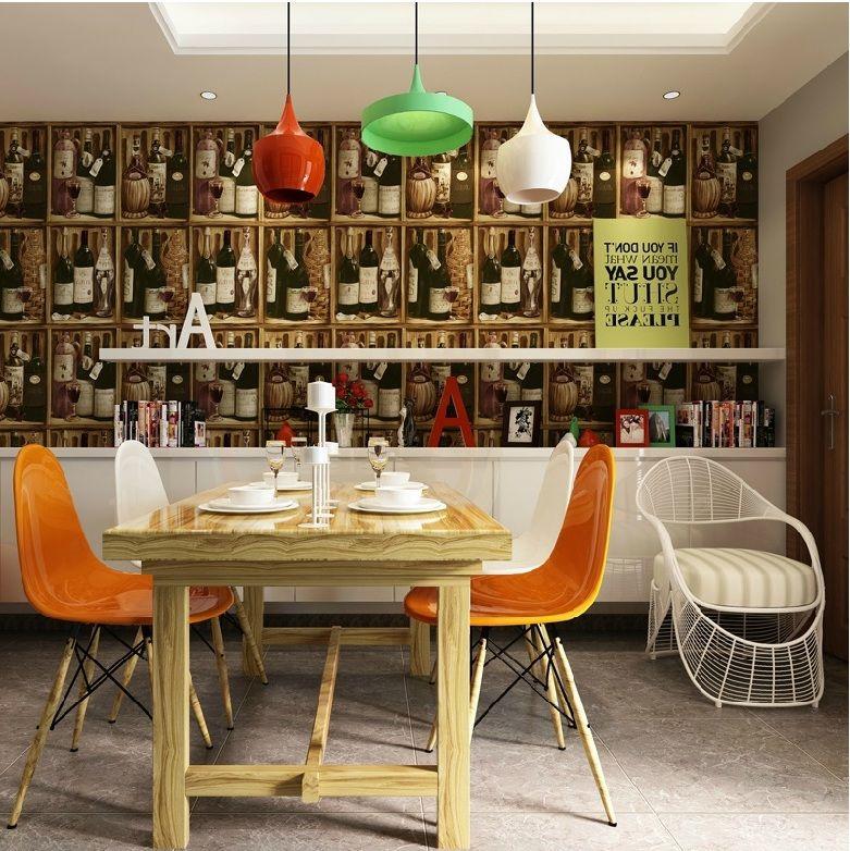 Tapeten für Küche - 23 frische Ideen - Esszimmer, Innendesign - tapete küche modern