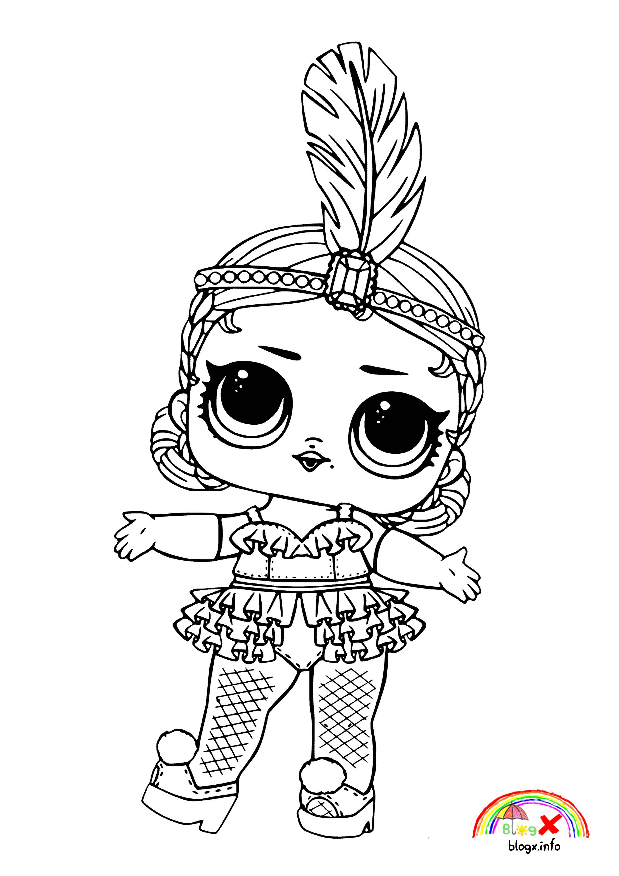 Pin On Lol Surprise Dolls Coloring Page [ 3508 x 2480 Pixel ]
