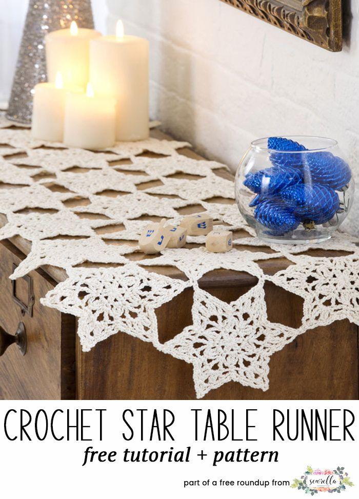 Celebrating Hanukkah Free Crochet Patterns | Hanukkah, Free Crochet And  Crochet