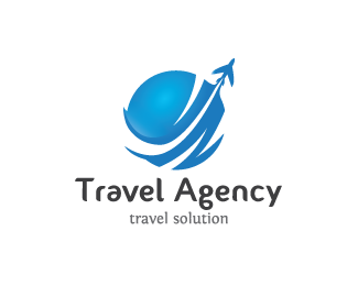 Travel agency logo design modern simple and minimalist for Design agency usa