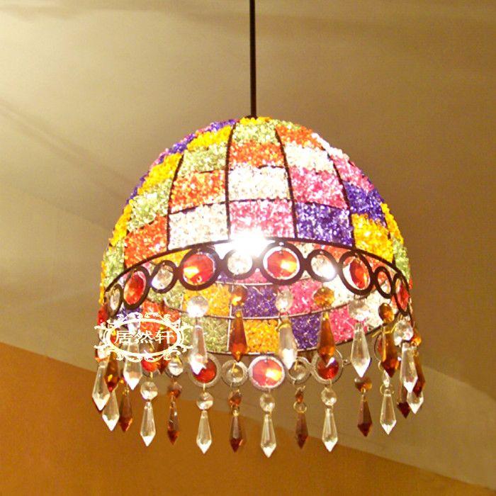 Bohemia Pendant Lights Bar lamp bohemia fashion crystal lamp