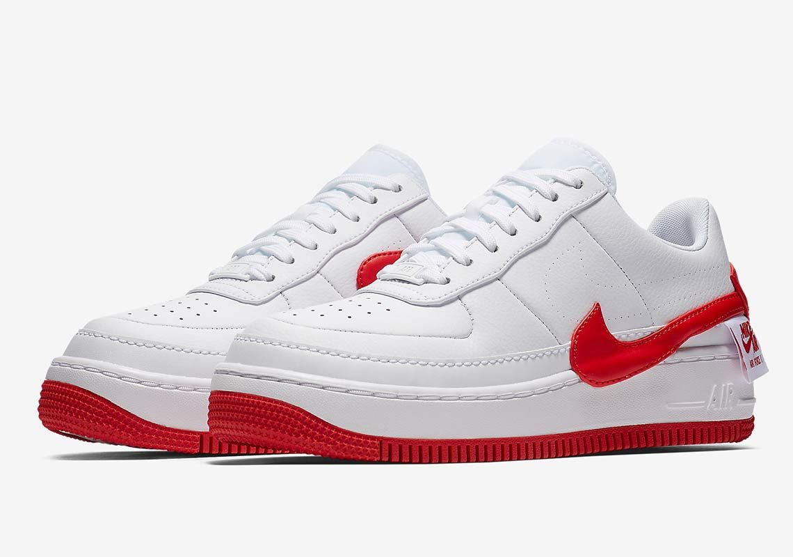 nike air force 1 jester rouge femme