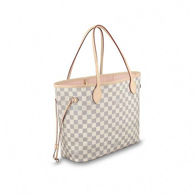 View 2 - Damier Azur Canvas HANDBAGS Business Bags Neverfull MM ... 4f5dc7fabac93