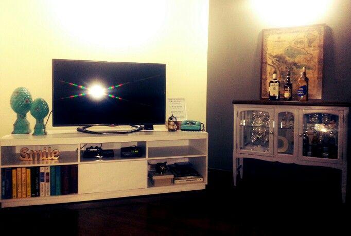 Sala de estar e barzinho...um charme!
