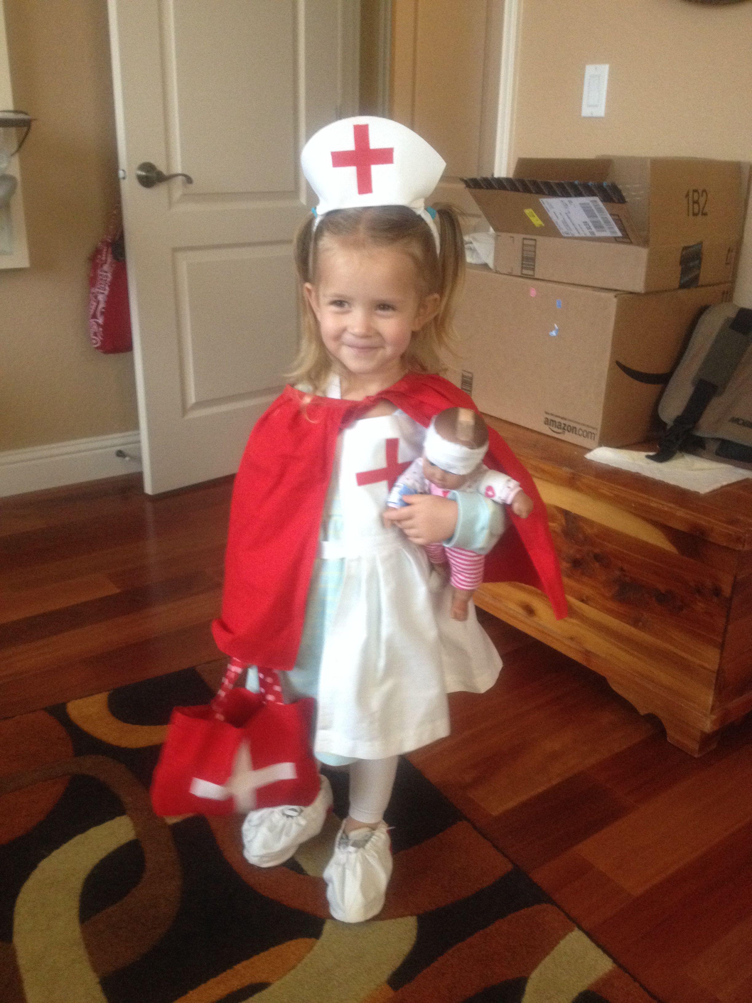 153eae0436bff Civil War Nurse Costume (modeled by my favorite granddaughter ...