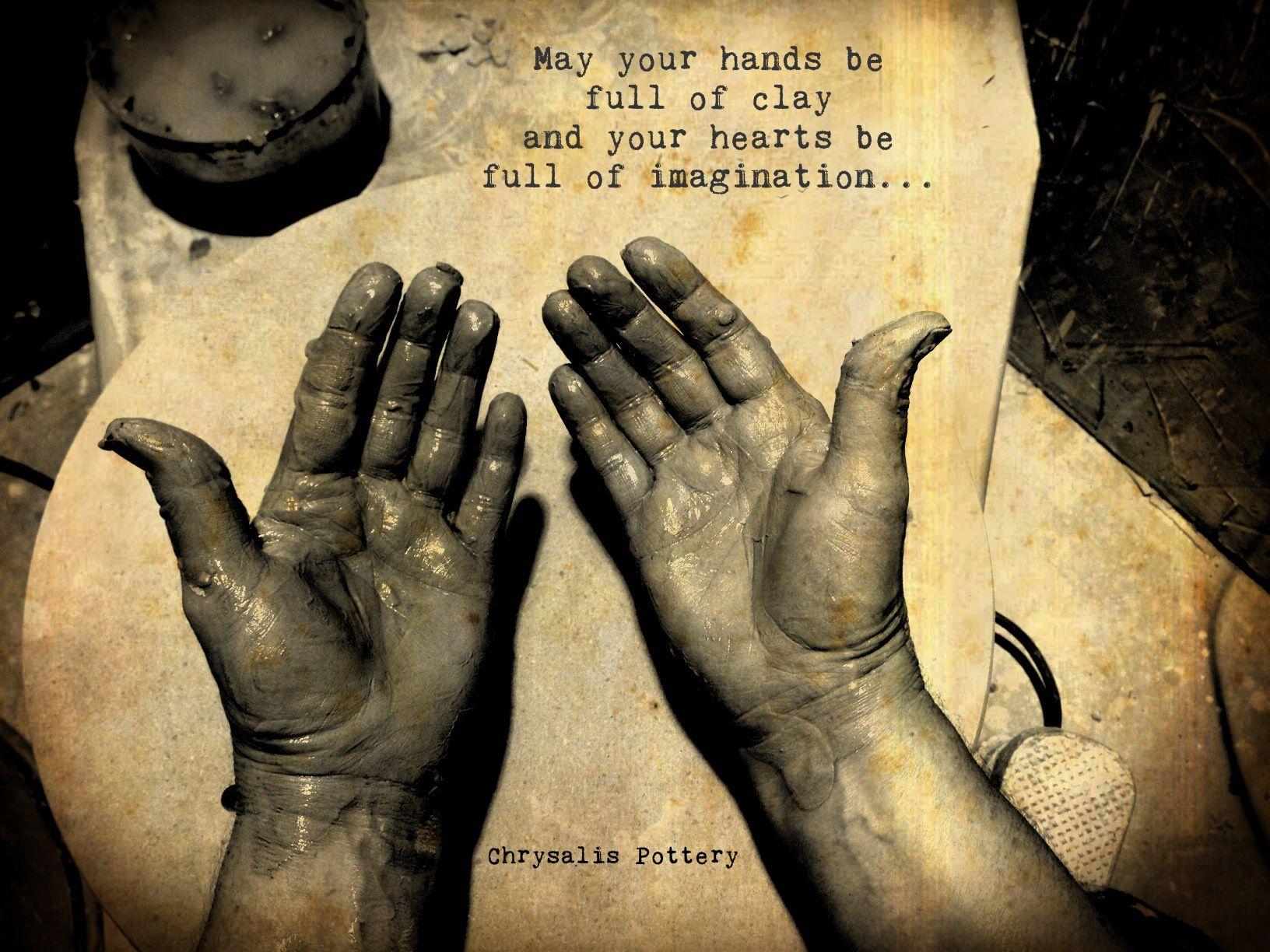 My Potter Hands Chrysalis Pottery