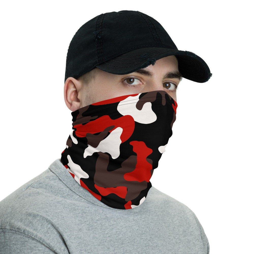 Motocross Men /& Women Face Mask Windproof Neck Warmer Winter Bandana For Fishing Motorcycling