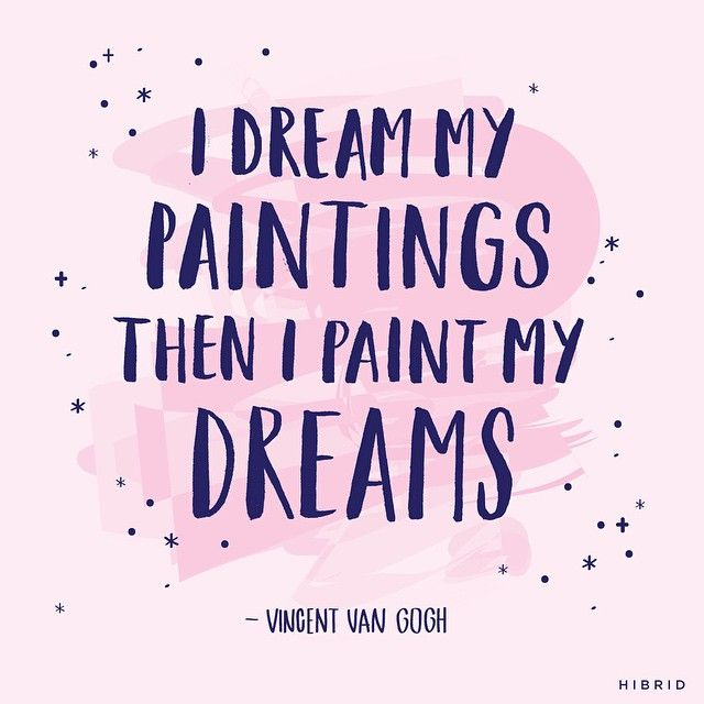 Van Gogh #handlettering by Courtney Shelton