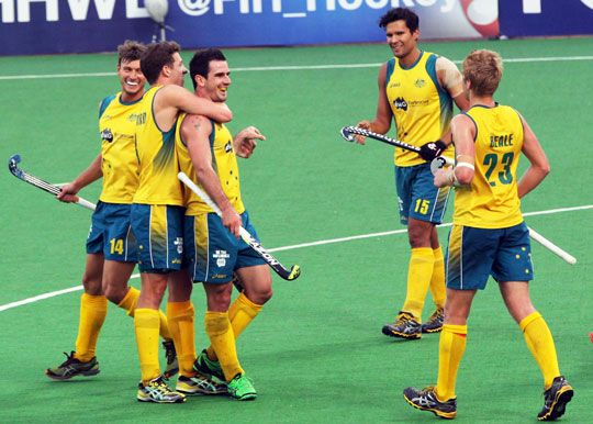 With a 6-1 victory over Argentina, Australia are on the top of the Pool B in the Hero Hockey World League Final, ahead of Wednesday's cross-...